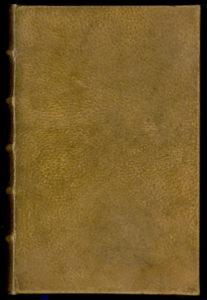 Фотография реальной книги, обложка которой сделана из человечской кожи