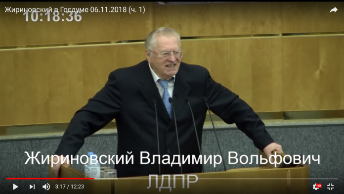 Дурӯғ: Жириновский: Ҳар рӯз 2-3 марзбони тоҷик мефавтад