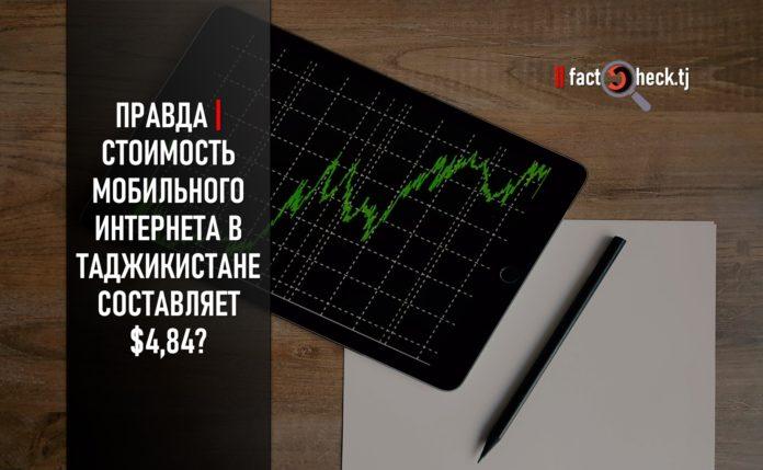 Правда | Стоимость мобильного Интернета в Таджикистане составляет $4,84? (инфографика)