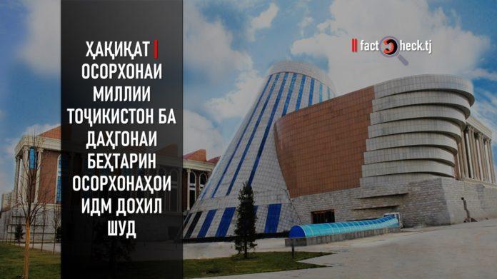 Ҳақиқат | Осорхонаи миллии Тоҷикистон ба даҳгонаи беҳтарин осорхонаҳои ИДМ дохил шуд